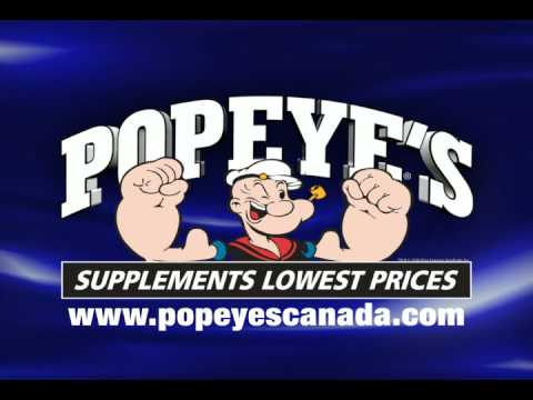 Popeyes Supplements Canada  YouTube