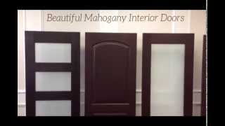 Contemporary Designs ~ Interior Wood and Glass Doors from Gateway Doors