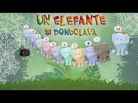 un elefante si dondolava canzoni per bambini best kids