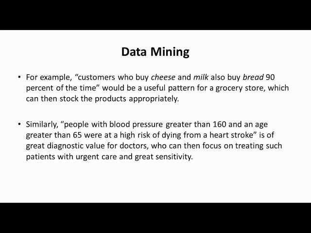 Introduction to Data Mining - Big data analytics Tutorial by Mahesh Huddar