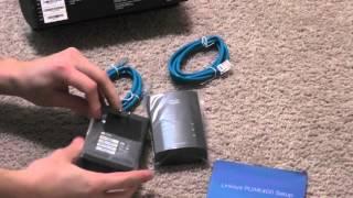 Linksys PLWK400 Powerline Wireless Adapter Unboxing