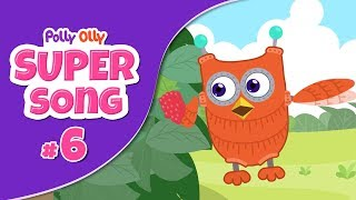 S01E06: When Polly & Olly follow Lilly to see her house | Super Song 6