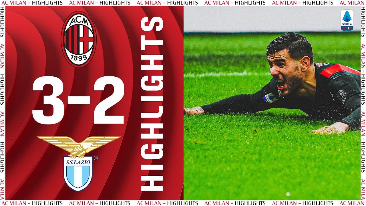 Download Highlights | AC Milan 3-2 Lazio | Matchday 14  Serie A TIM 2020/21