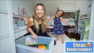 Babyzimmer wird Kinderzimmer 😍 Elisa hilft mit! Ausmisten & aufräumen! Mama VLOG | Mamiseelen