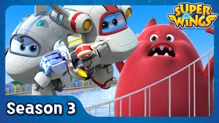 Webcaster Disaster | super wings season 3 | EP07
