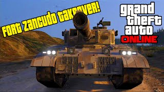 GTA 5 Online - MILITARY BASE TAKEOVER (Funny Moments w/ Hike The Gamer, Typical Gamer & MORE!)
