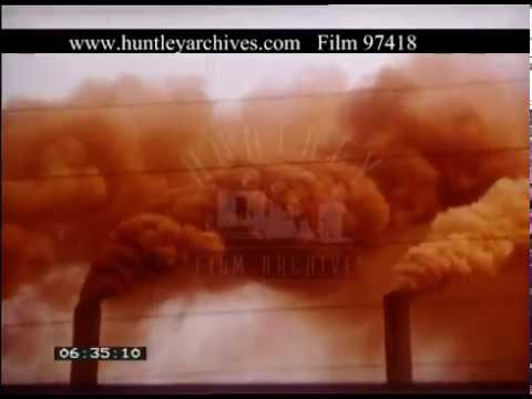 Heavy Industry And Pollution, 1970s - Film 97418