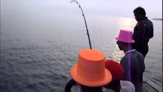 GT fishing at Androth Lakshadweep