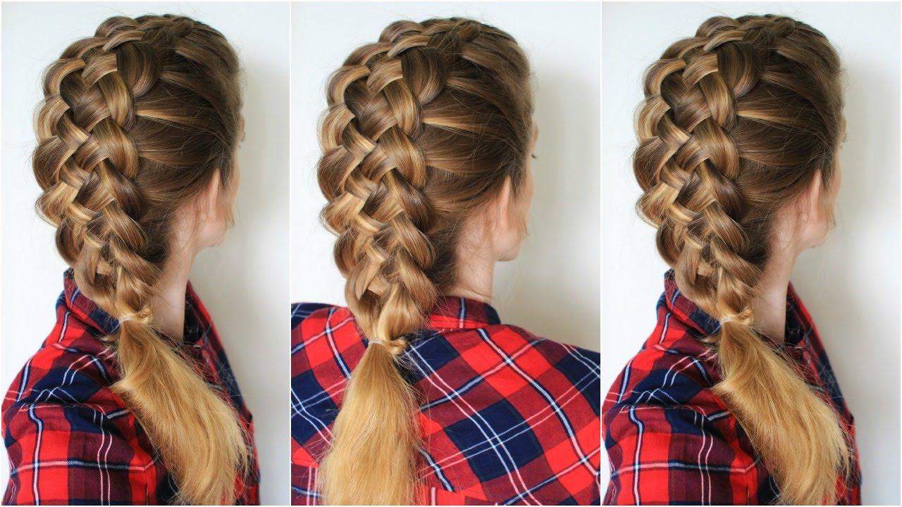 how to braid : 5 strand braid step by step | braidsandstyles12