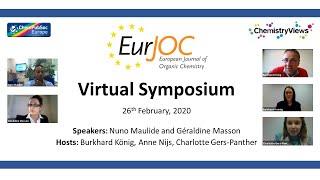 EurJOC Virtual Symposium @EurJOC #YourJOC