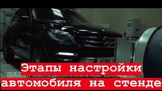 видео Тюнинг Mercedes ML-class W166