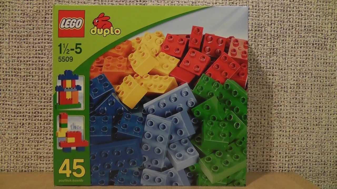 Lego Duplo 5509 Zestaw Podstawowy Standardowy Youtube