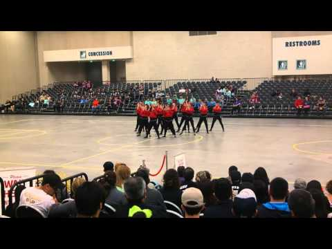 Weslaco High School Dreamettes Team HipHop Dance at ShowTime Competition 2016