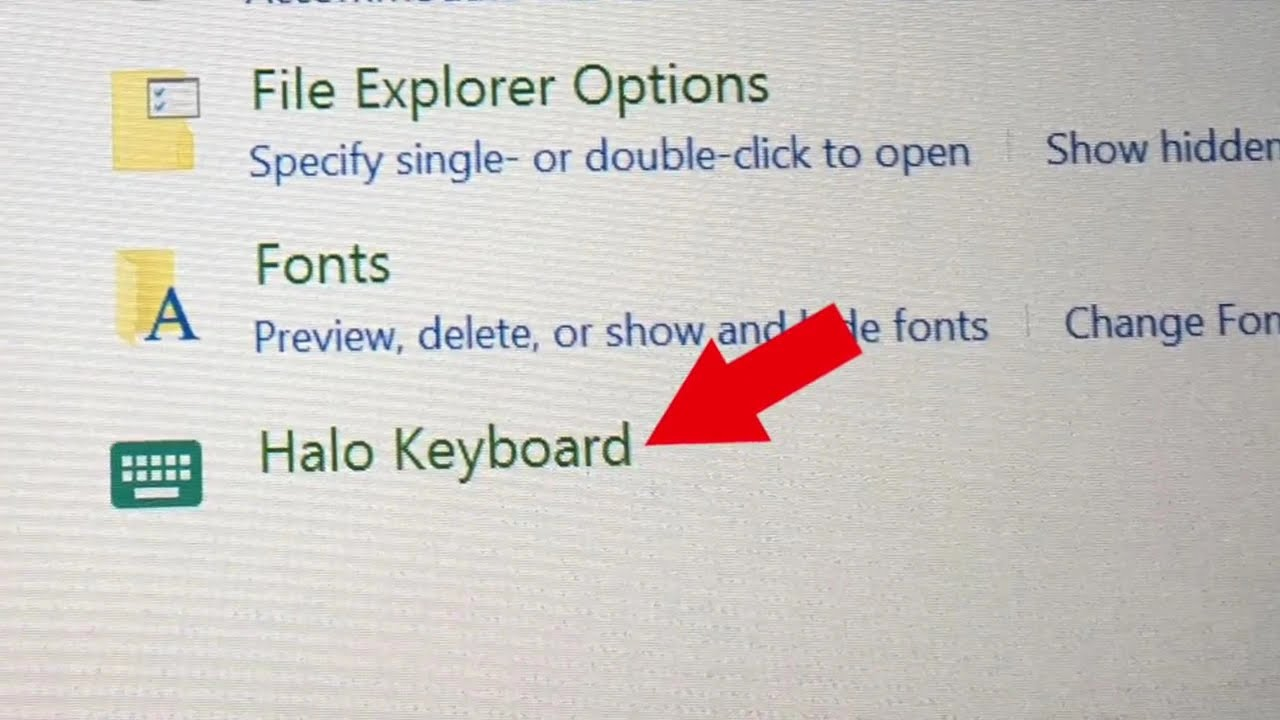 Lenovo Yoga Halo Keyboard Settings Vibration And Sound On Off Youtube