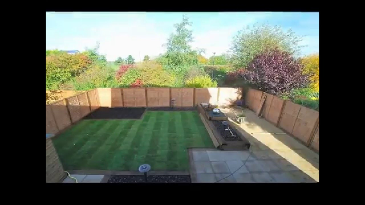 Landscape Gardeners Leeds A Time Lapse Garden Makeover YouTube