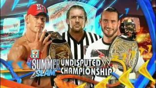 WWE SummerSlam 2011 Theme Song