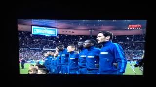 La Marseillaise - France x Ukraine 2014 Fifa World Cup Qualifying Play-off - 19.nov.2013
