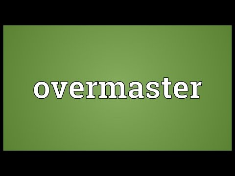 Header of overmaster