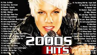 Late 90s Early 2000s Hits Playlist    Rihanna, Eminem, Katy Perry, Nelly, Avril Lavigne, Lady Gaga - best pop songs 00s