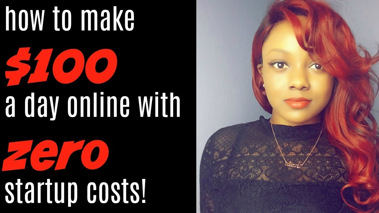 How to Make  100 a Day w No Startup Costs   Free Marketing