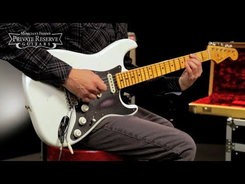 Fender Custom Shop NAMM LTD Black Annodized Journeyman Relic Stratocaster Electric Guitar