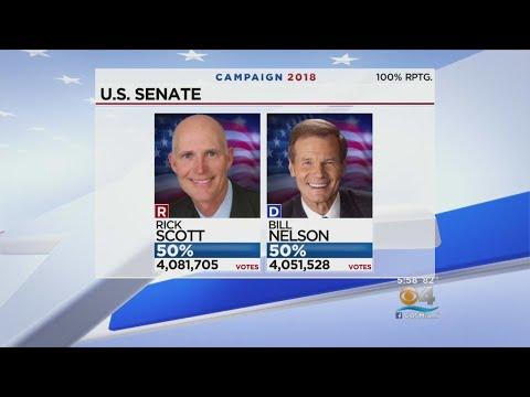 Florida Senate Race Headed To Recount