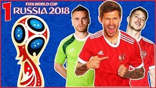 FIFA World Cup 2018 Russia в FIFA 18 - ВЕСЬ ГРУППОВОЙ ЭТАП