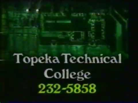 Topeka Technical College commercial 1987
