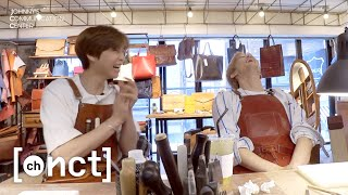 (J💚M : M💚J) Making Passport Wallet for each other | Johnny's Communication Center (JCC) Ep.8