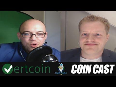 Coin Cast Episode 3: Vertcoin Developer - Gert Jaap Glasbergen
