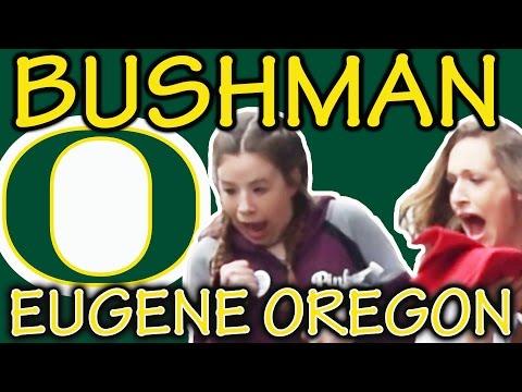 Bush man prank   FUNNIEST BUSHMAN SCARE PRANK EVER #326   Eugene Oregon   Ryan Lewis Videos