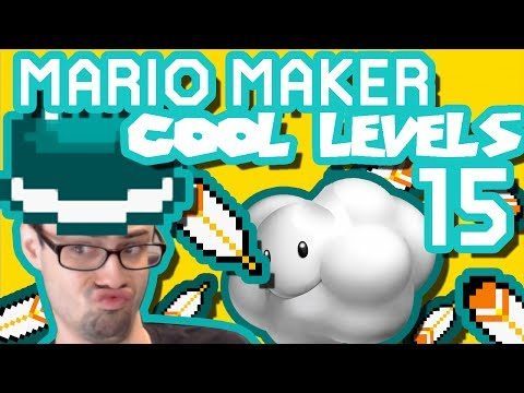 Mario Maker - The Mole Machine, Beetle Balance, Bowser's Castle of Illusion and More Cool Levels #15