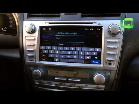 Штатное головное устройство IQ NAVI D4-2902 Toyota Camry V40 (Android 4.2.2)