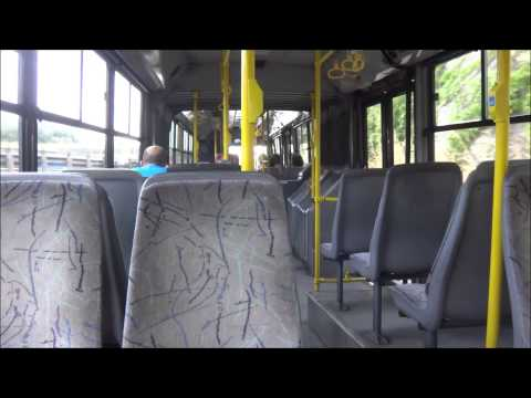 Athens Bus: Riding a Volvo/Sarakakis B7LA (articullated)