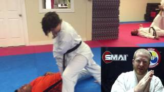 PNF Stretching - Flexibility training for karate athletes