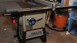36-725 Delta Table Saw Assembly