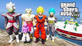 Video GTA 5 Mods - DRAGON BALL Z MOD w/ SUPER SAIYAN GOKU, VEGETA & KID BUU! (GTA 5 Mods Gameplay) download MP3, 3GP, MP4, WEBM, AVI, FLV Agustus 2018