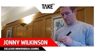 JONNY WILKINSON - Exclusive Memorabilia
