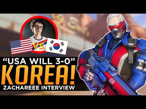 Overwatch: USA Will 3-0 Korea! - Pro Player Interview ft. Zacharee thumbnail