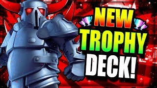 MY NEW FAVORITE DECK IN CLASH ROYALE!! NEW PEKKA DECK OP!!