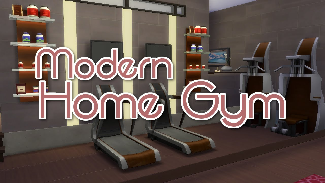 The sims room build modern home gym youtube