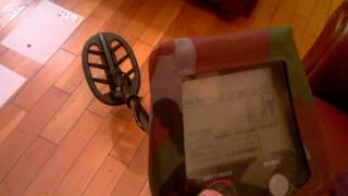 metal detector gf2 iron test same build as t2 teknetics