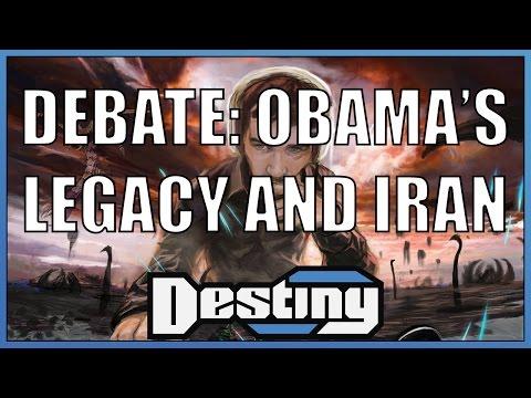 Debate: Obama's legacy and Iran