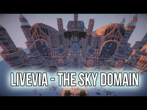 Livevia - The Sky Domain [Minecraft Timelapse] - Livevia - The Sky Domain [Minecraft Timelapse]