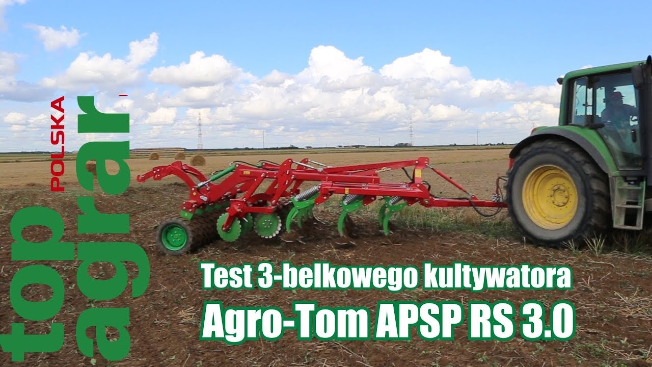 Test agregatu Agro-Tom APSP RS 3.0 – top agrar 11/2017