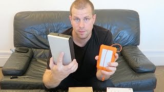 LaCie PORSCHE USB vs Rugged Thunderbolt Hard Drive External Memory