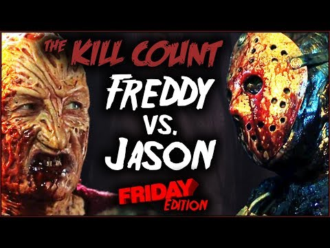 Freddy vs. Jason (2003) KILL COUNT [Original FRIDAY Edition]