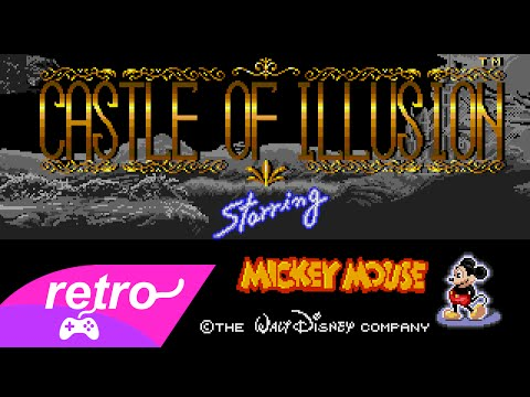[Full GamePlay] Castle Of Illusion Starring Mickey Mouse (Hard Mode) [Sega Megadrive/Genesis]