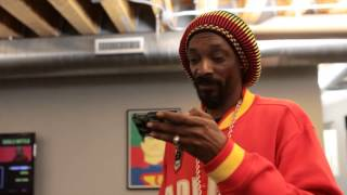 Go behind the scenes at GGN Headquarters where Snoop feeds Lil Chuu...