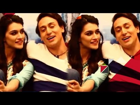 Tiger Shroff Gets Witty With Kriti Sanon | EXCLUSIVE
